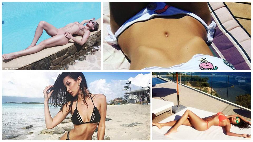 Ribcage Bragging is the latest Instagram craze among celebrities.