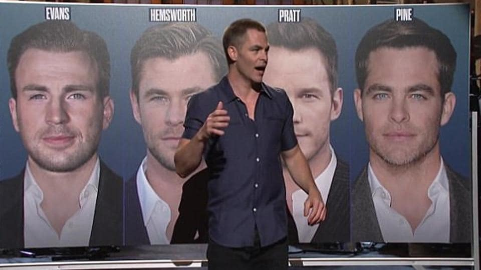Chris Pine hosted Saturday Night Live on May 6.
