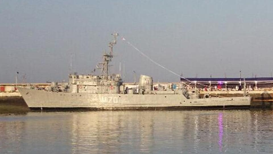 INS Karwar and INS Kakinada were decommissioned on Tuesday.