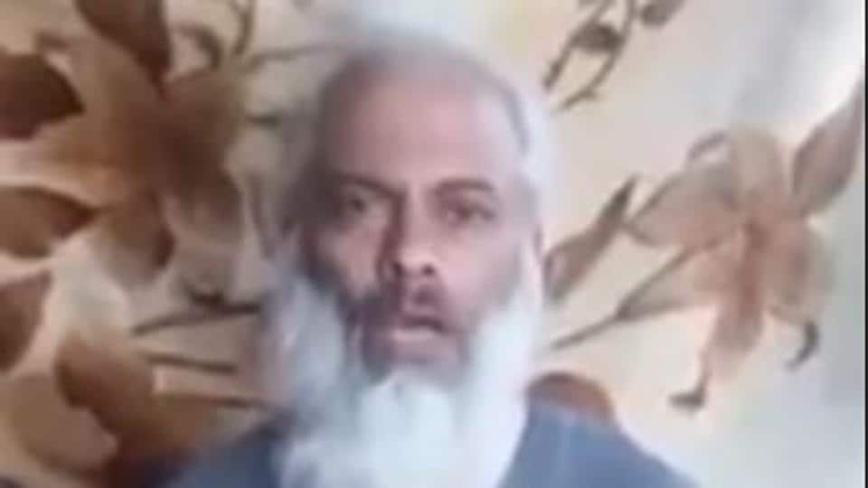 Screen grab from new video of Father Tom Uzhunnalil, a Catholic priest abducted in Yemen by the Islamic State last year, in which he has made a fresh appeal to the Indian government to step up efforts for his release.