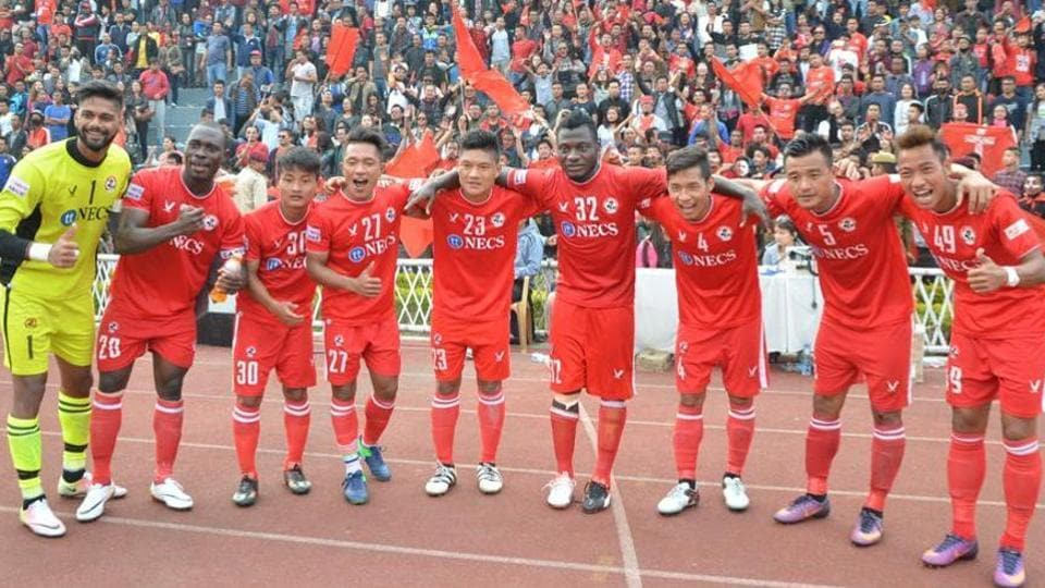 Aizwal FC became the first team to reach the Federation Cup semis after beating Churchill Brothers.