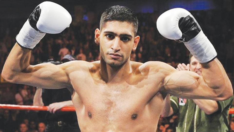 Amir Khan is among the top-3 boxers in the world in welterweight division right now.