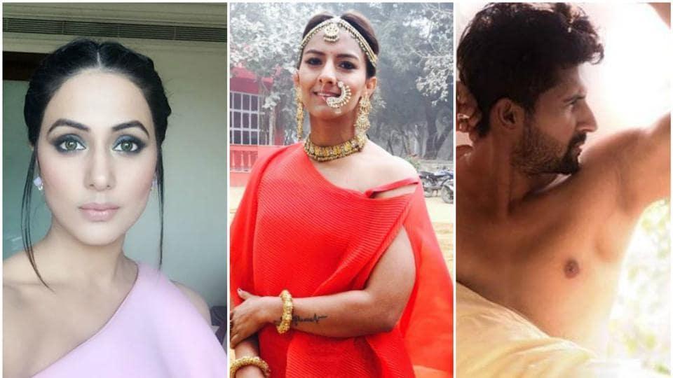 Hina Khan,Geeta Phogat,Ravi Dubey