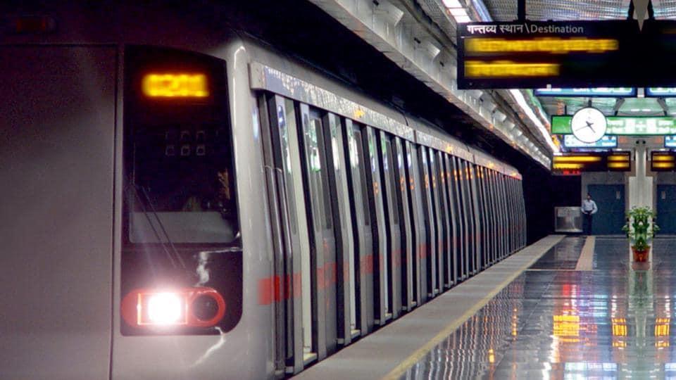Delhi Metro,Najafgarh Dhansa metro line,Metro construction