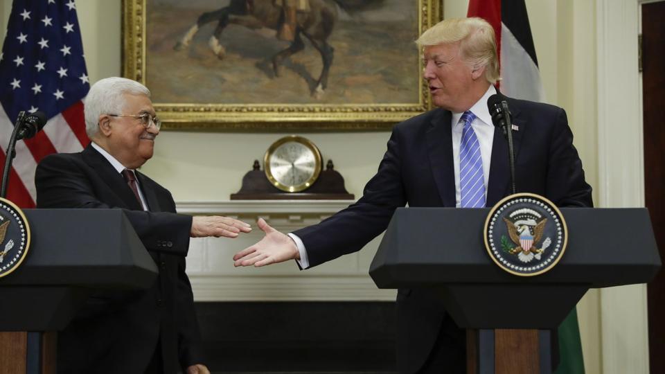Mahmud Abbas,Donald Trump,Israel