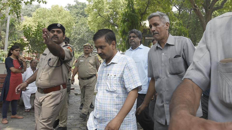 One complaint is against Arvind Kejriwal allegedly taking bribe of Rs 2 crore from Satyender Jain, officials said.