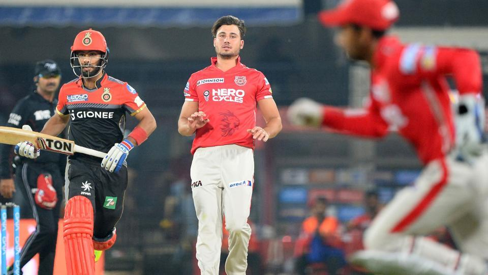 Australia cricket team player Marcus Stoinis (centre) was an integral part of the Kings XI Punjab (KXIP) gameplan in the ongoing Indian Premier League (IPL) before his freak injury during training.