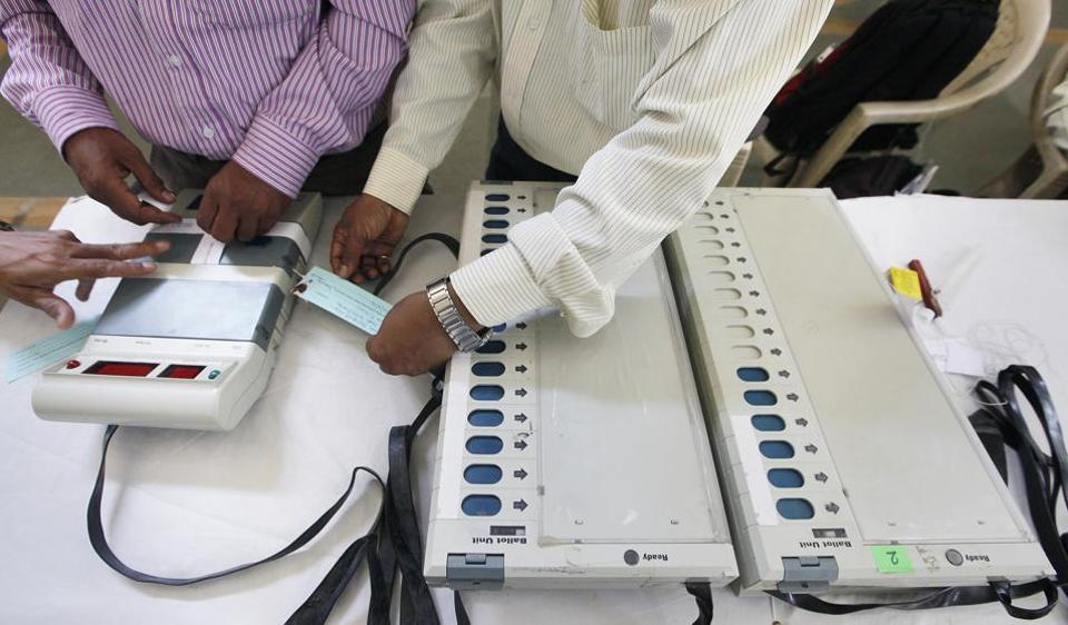 """The Election Commission of India issued an """"open challenge"""" to hack its Electronic Voting Machines (EVMs) in the first week of May after AAP raised concerns that they might have been tampered with."""