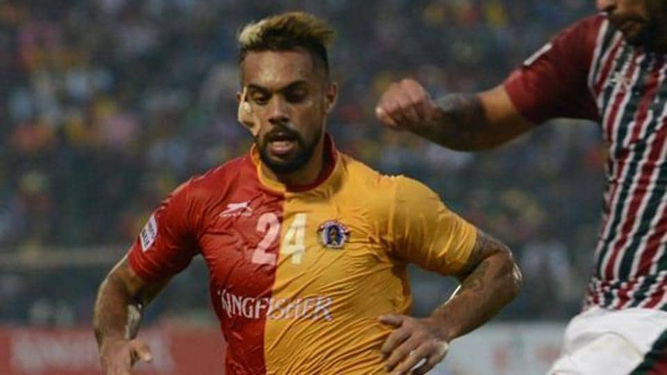 East Bengal's Robin Singh scored two goals against Chennai City FC in the Federation Cup.