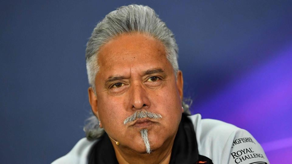 Vijay Mallya, who lives in the UK, is wanted in India for loan default and money laundering.