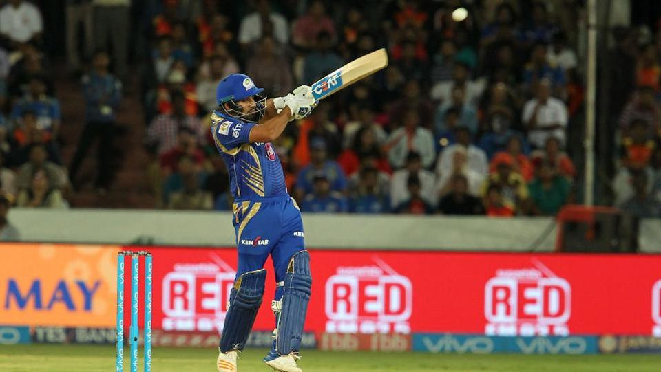 The skipper scored a solid 67 which propelled the Mumbai Indians to a respectable total at the end. (BCCI)