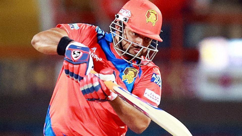 IPL 2017,Suresh Raina,Gujarat Lions