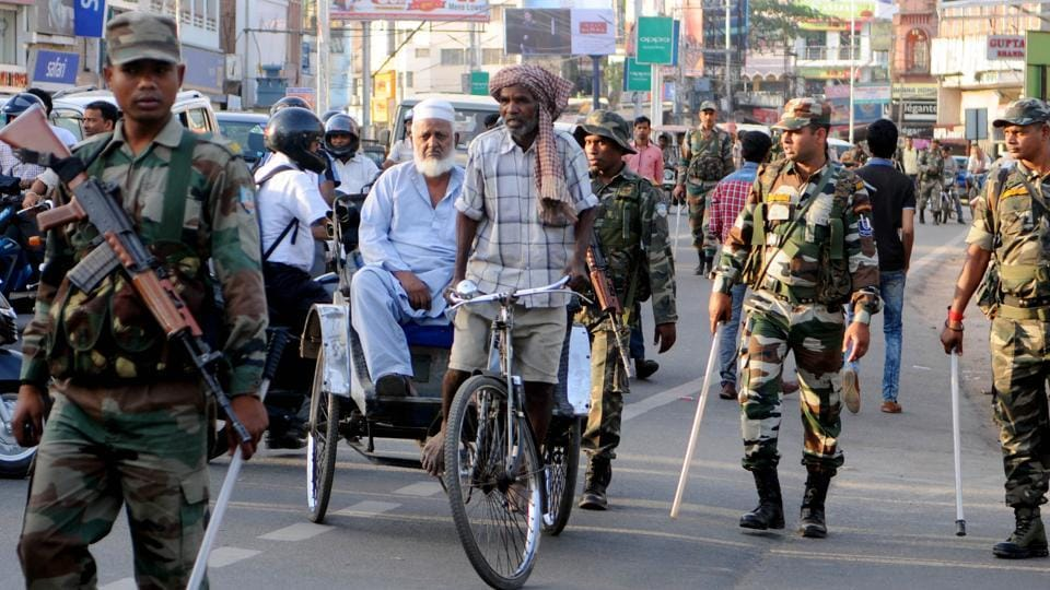 Prohibitory orders under section 144 have been clamped following communal violence in Jharkhand's Chaibasa.