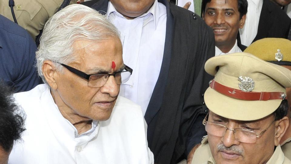 Former Bihar chief minister Jaganath Mishra