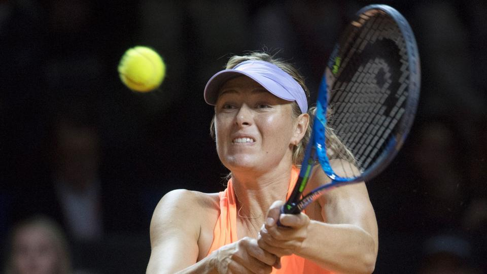 Maria Sharapova crashes out of  Madrid Open after losing to Eugenie Bouchard.