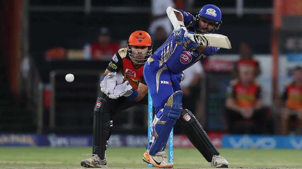 Mumbai Indians did not start well as they lost opener Lendl Simmons early but Parthiv Patel stabilised the innings for the visitors. (BCCI)