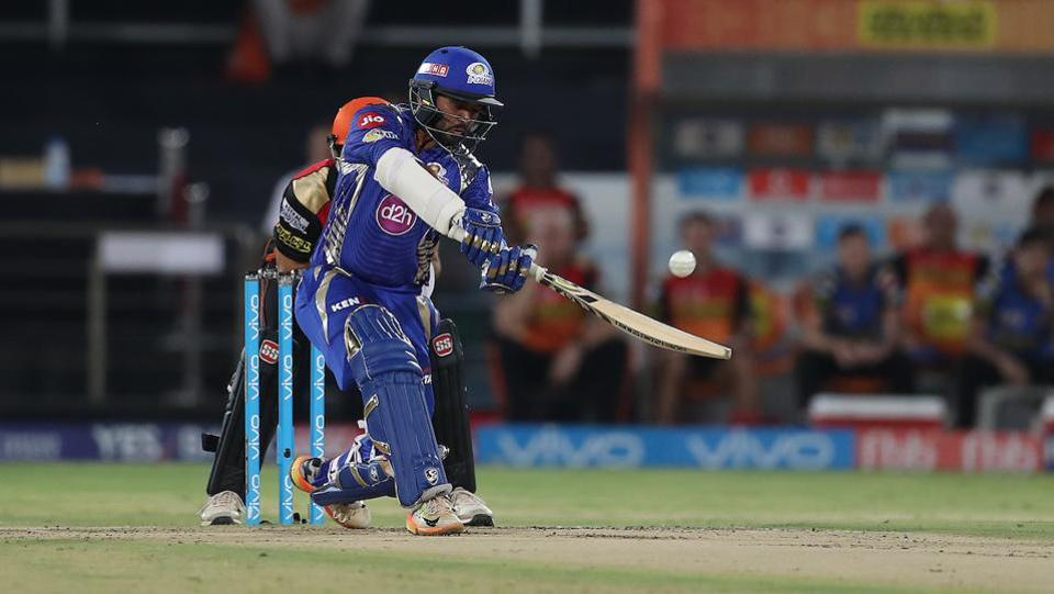Just when he was looking set Parthiv Patel fell for 23 which put the Mumbai Indians in more than a spot of bother. (BCCI)