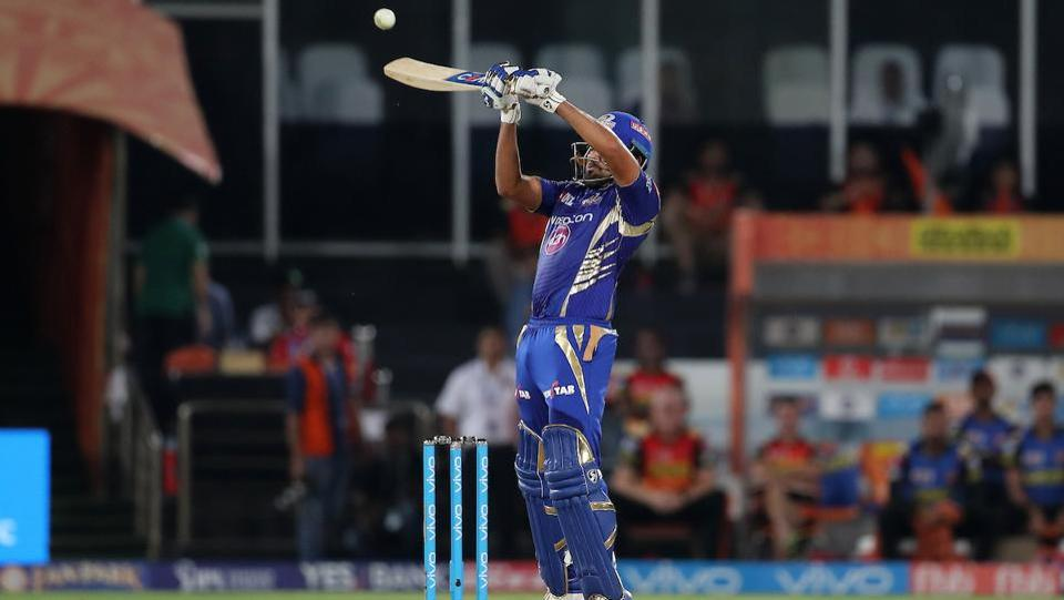 With Mumbai Indians in trouble, captain Rohit Sharma took the charge upon himself as he anchored the innings thereon. (BCCI)