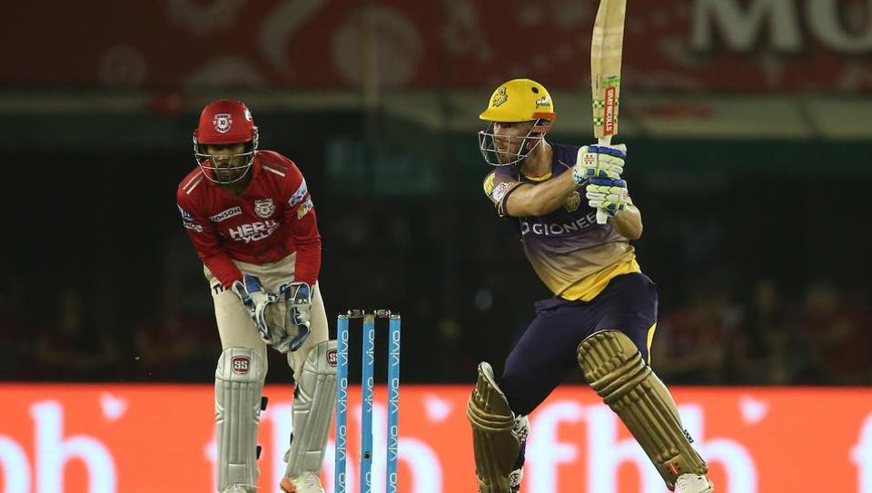 Chris Lynn's fantastic knock of 84 went in vain as the Kolkata Knight Riders succumbed to a 14-run loss toKings XI Punjab in IPL2017 in Mohali on Tuesday. Catch full cricket score of Kings XI Punjab vs Kolkata Knight Riders here.