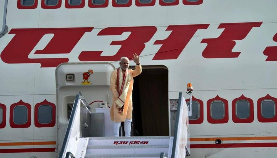 Air India keeps three Boieng 747-400 aircraft for running chartered services for the President, the Vice President and the Prime Minister during their visits abroad.
