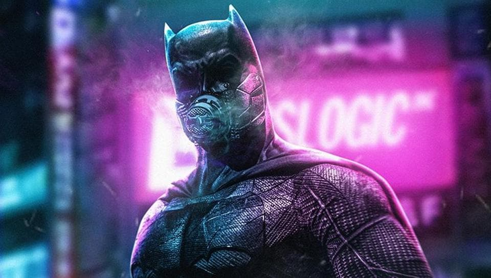 A Batman artwork by Kode Abdo a.k.a BossLogic.
