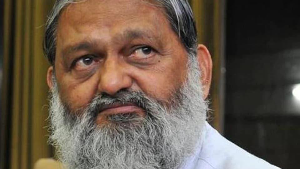 Haryana government,Haryana minister Anil Vij,stone-pelters