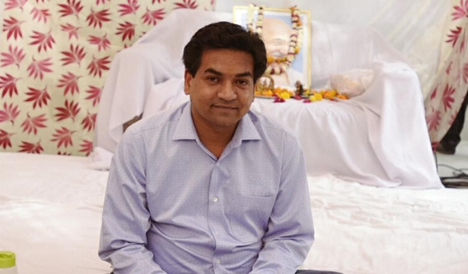 Kapil Mishra,AAP,Arvind Kejriwal