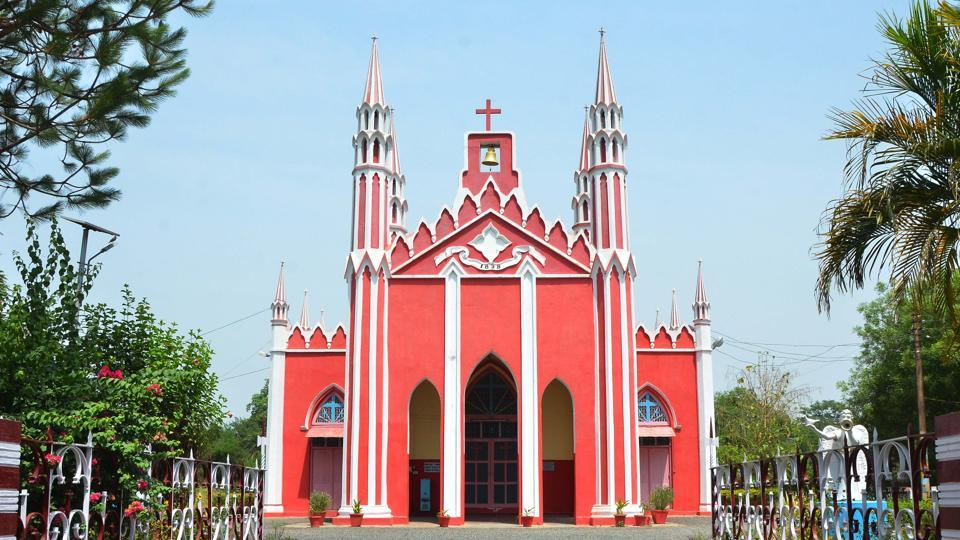 The Free Will Baptist Church in Bareilly.
