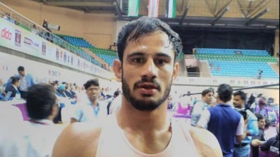 Harpreet Singh wins bronze in Greco-Roman at Asian Wrestling Championship | other sports | Hindustan Times