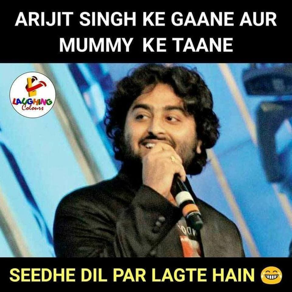 Social media users are going crazy over Arijit Singh memes.