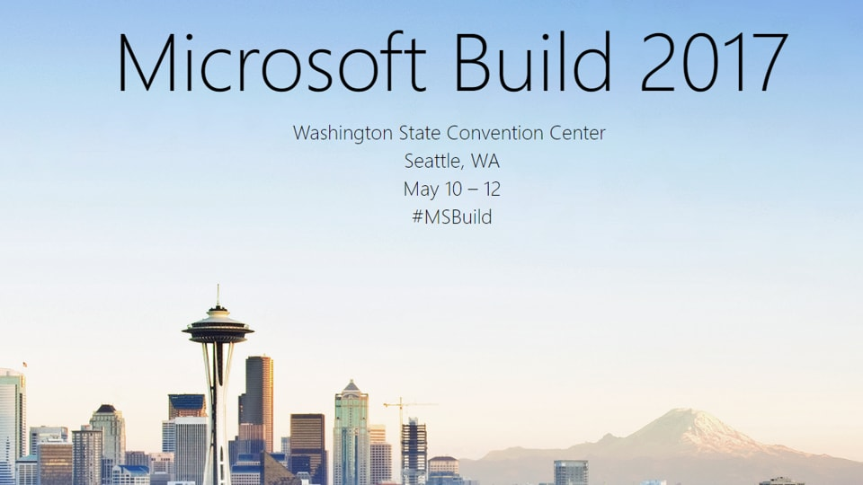 Build Microsoft Conference  Speakers