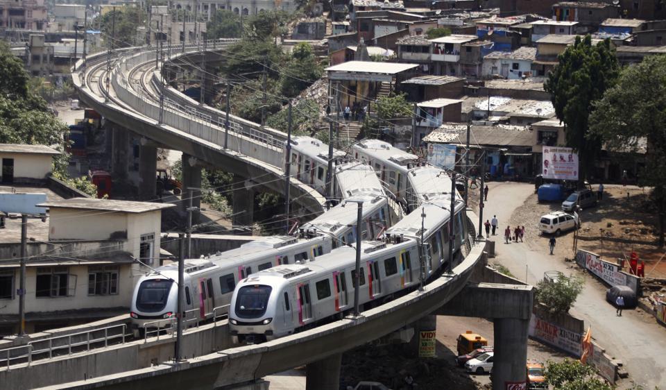 Mumbai metro,Metro 3,Colaba-Seepz metro