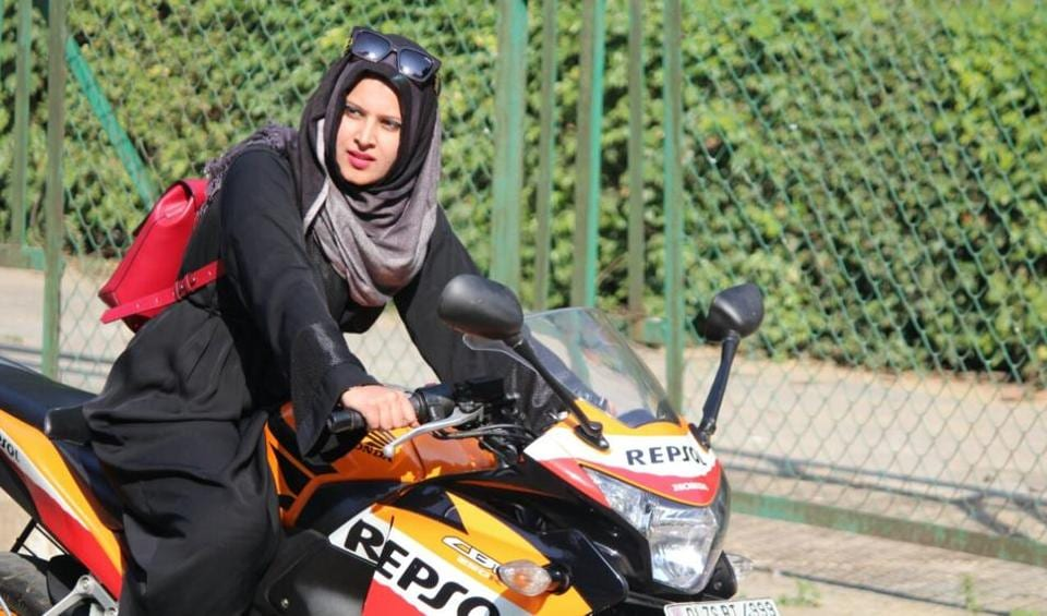 Roshni Misbah is riding bikes since her ninth standard days.