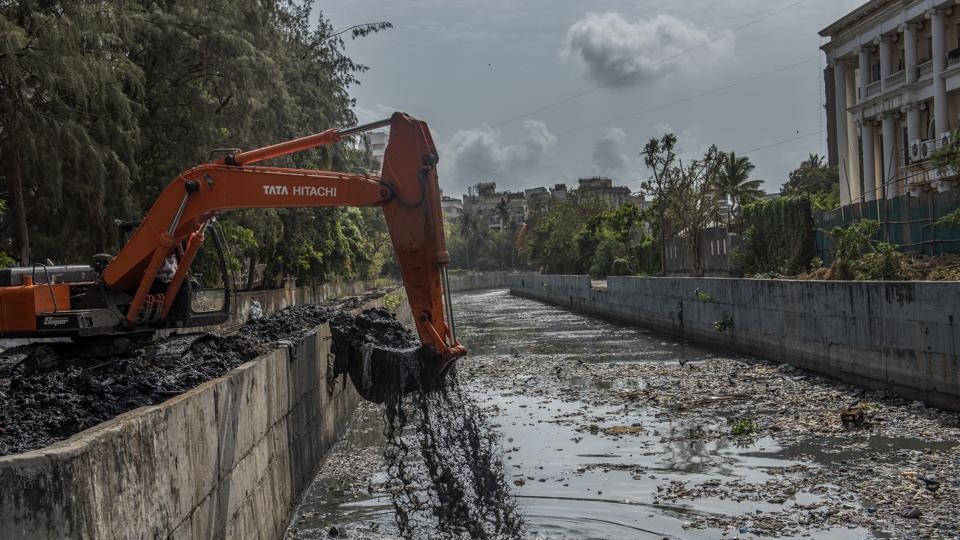 The BMC plans to complete 60% of the desilting work by the end of the month to prevent water logging during monsoon.
