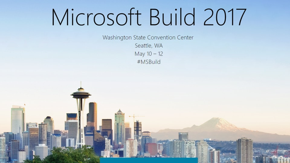 Microsoft is scheduled to hold its 2017 edition of the Build developers conference in Seattle -- a change in venue from San Francisco.