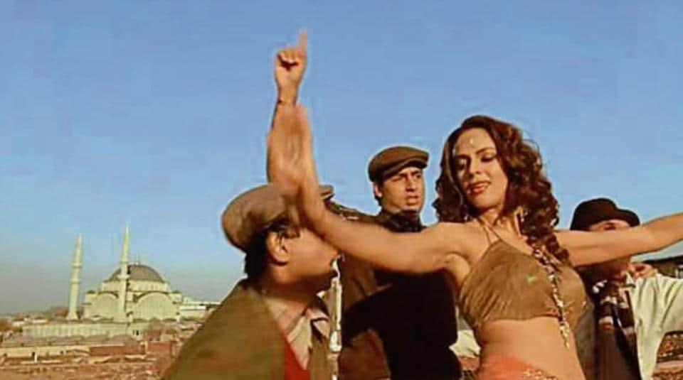 Films such as Guru (in picture) were shot in Turkey.