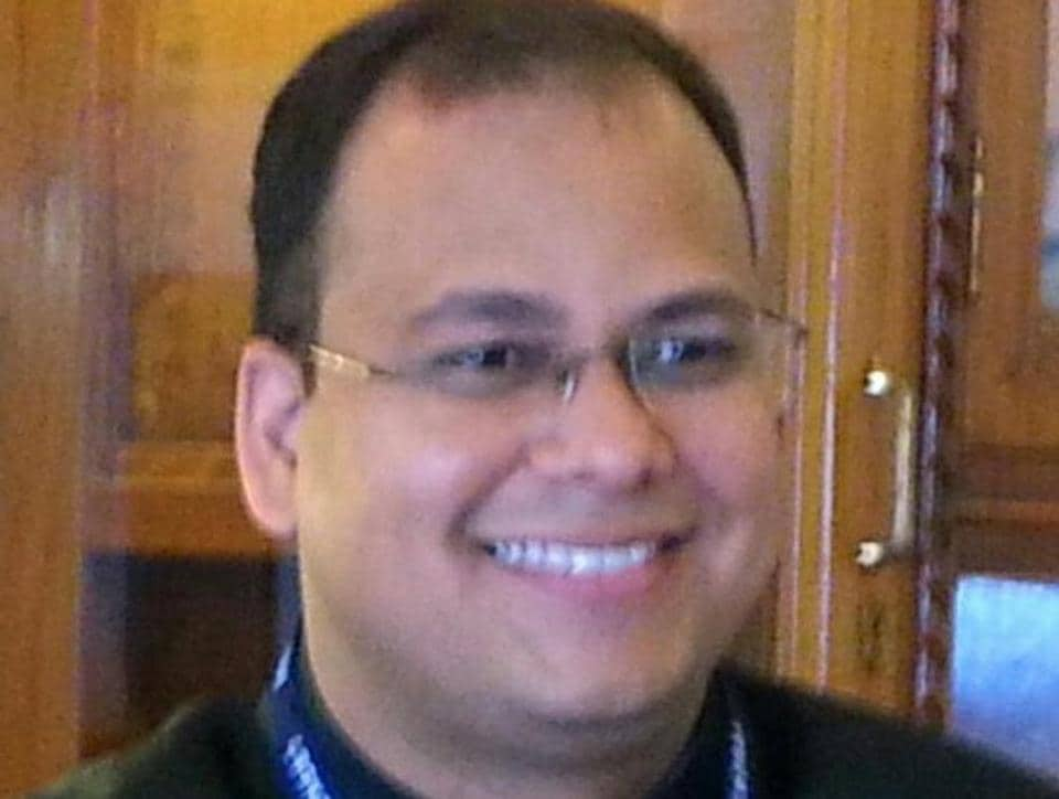Jitendra Gupta is all smiles after Supreme Court order.