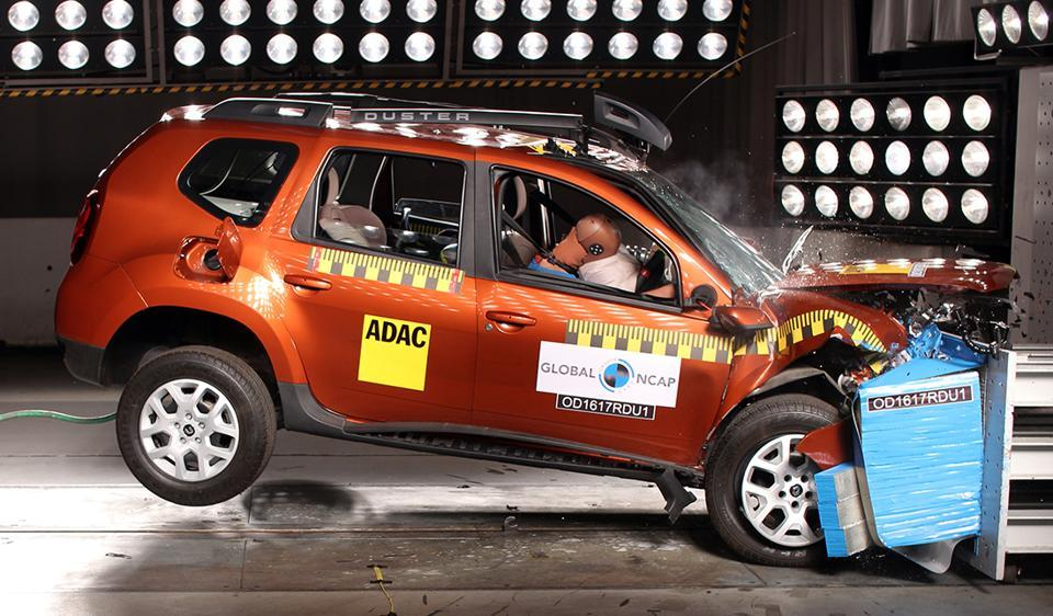 Global NCAP,Car crash tests,Renault Duster