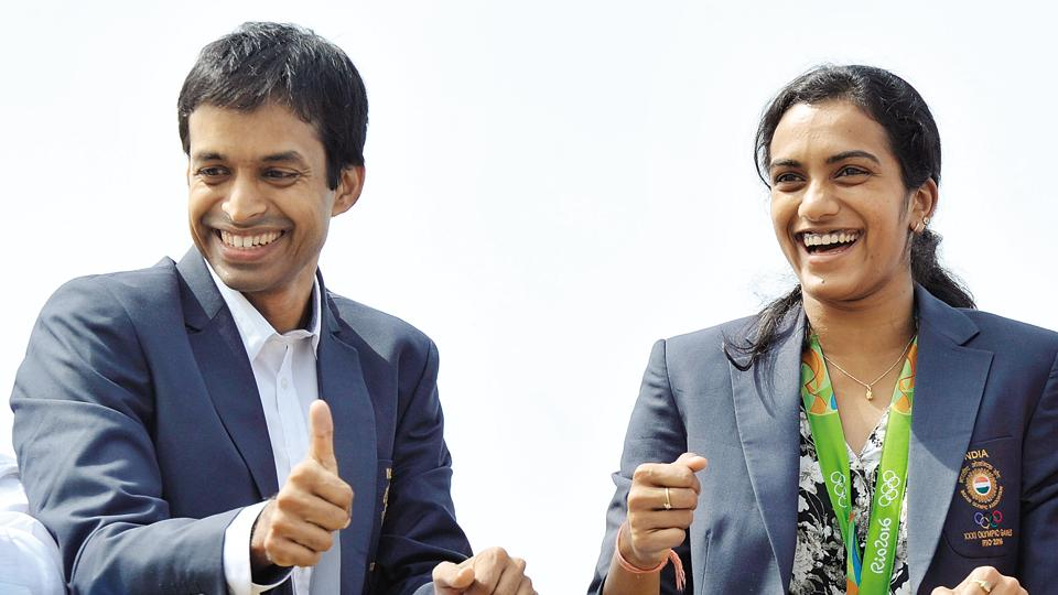 Pullela Gopichand,PV Sindhu,Saina Nehwal
