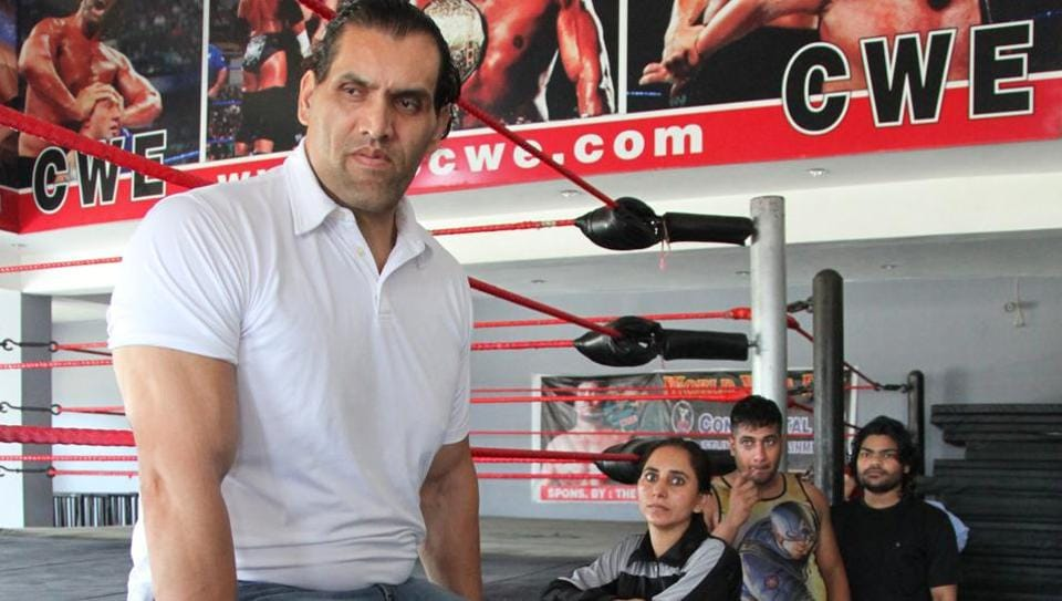 Dalip Singh Rana, who is also known as The Great Khali, is perhaps the biggest name from India to take part in World Wrestling Entertainment.