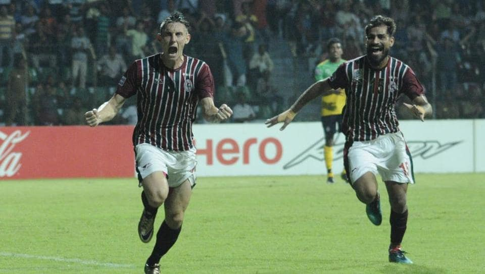 Mohun Bagan earned a 3-2 victory over Shillong Lajong in the Federation Cup in Cuttack on Wednesday.