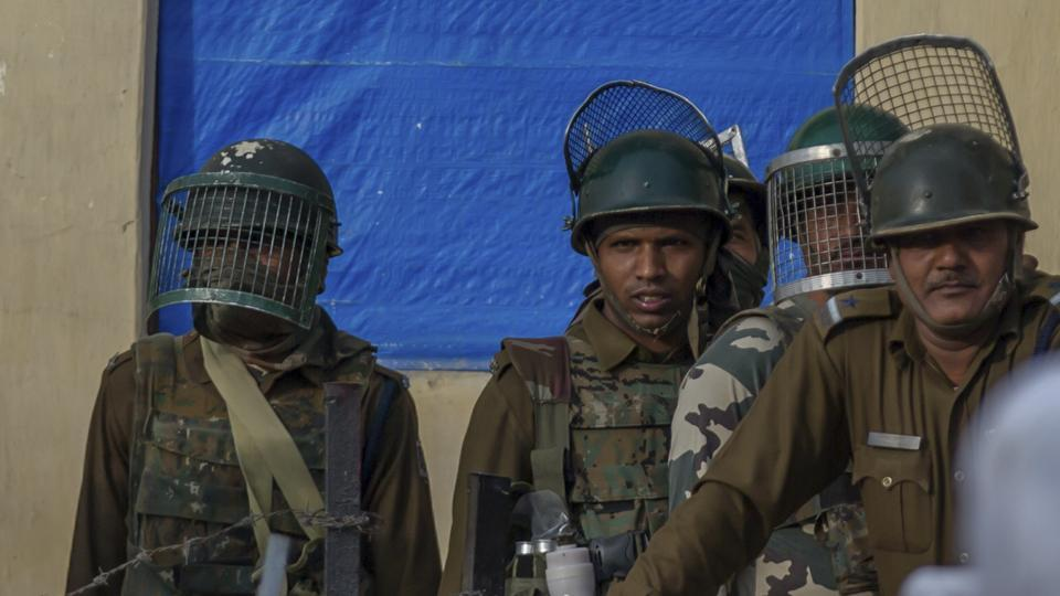 Thousands turned up for the Jammu and Kashmir police recruitment drive in Kashmir.