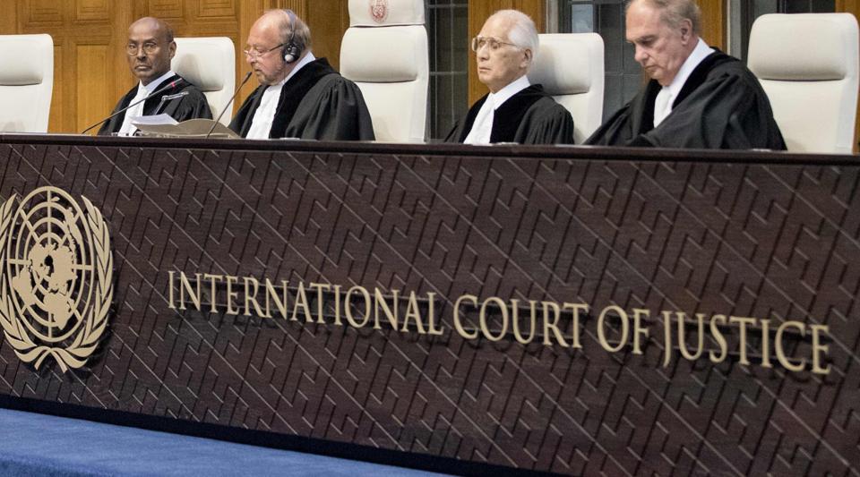 International Court of Justice,Kulbhushan Jadhav,India Pakistan