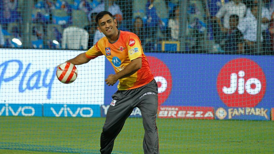 MS Dhoni  might be having a lukewarm IPL2017 with the bat for Rising Pune Supergiant but he has topped the Twitter player emoji leaderboard.
