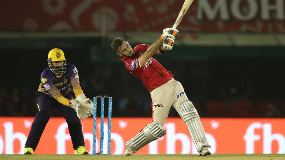 However, Kings XI Punjab captain Glenn Maxwell came good on the day as he top scored with 44 for the team. (BCCI)