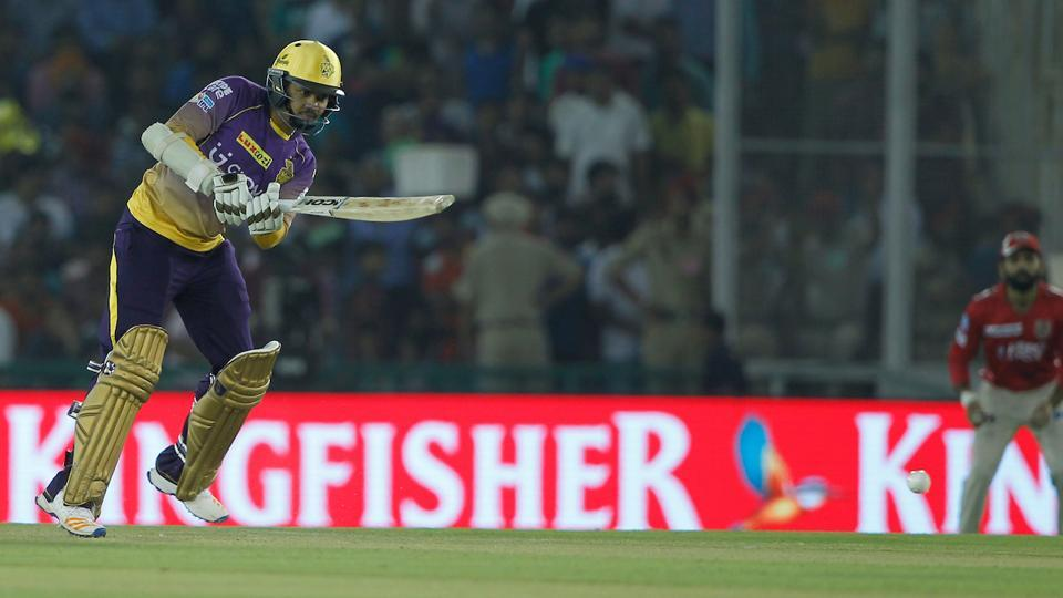 In reply, Sunil Narine got out early on after hitting a few lucid boundaries. (BCCI)