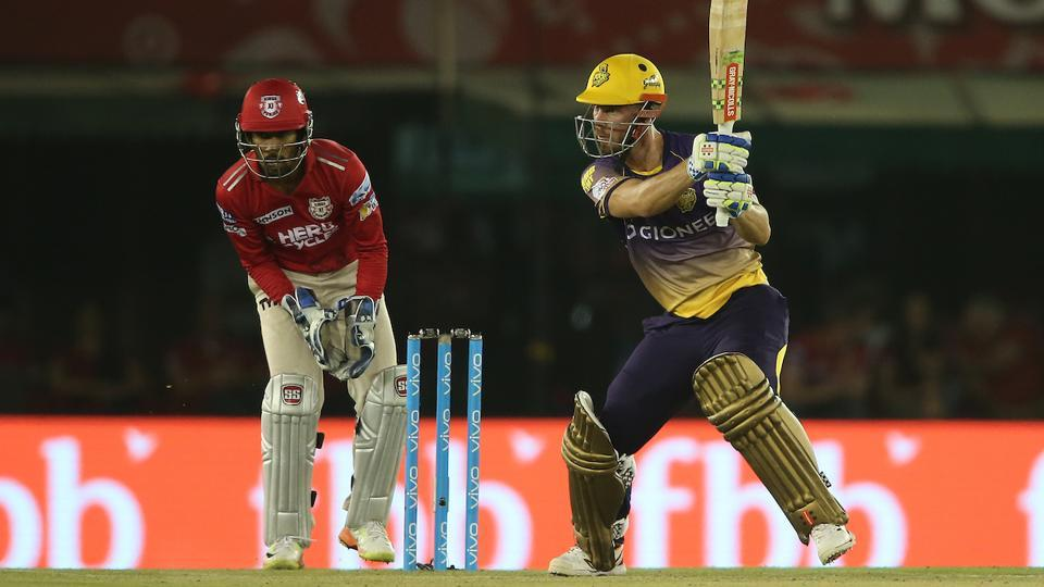 But opener Chris Lynn was in his elements as the anchored the innings for Kolkata Knight Riders. (BCCI)