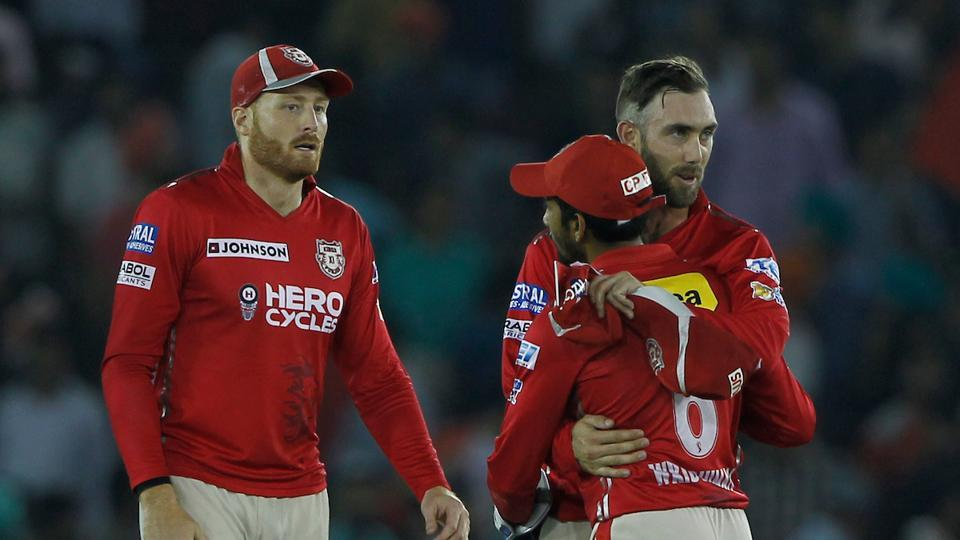 Kings XI Punjab bowled well when it mattered most to halt the Kolkata Knight Riders at 153/6. (BCCI)