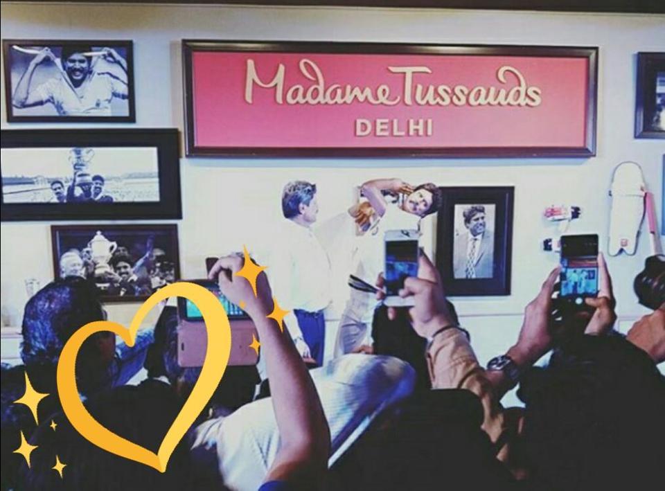 Kapil Dev,Wax statue,Madame Tussauds