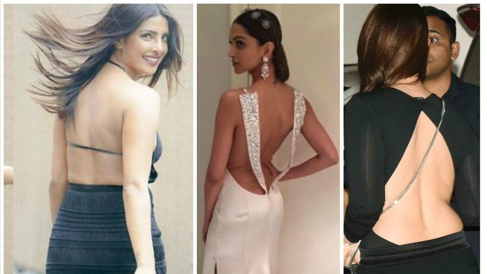 Bollywood fashionistas are rocking the backless trend and making us envious.